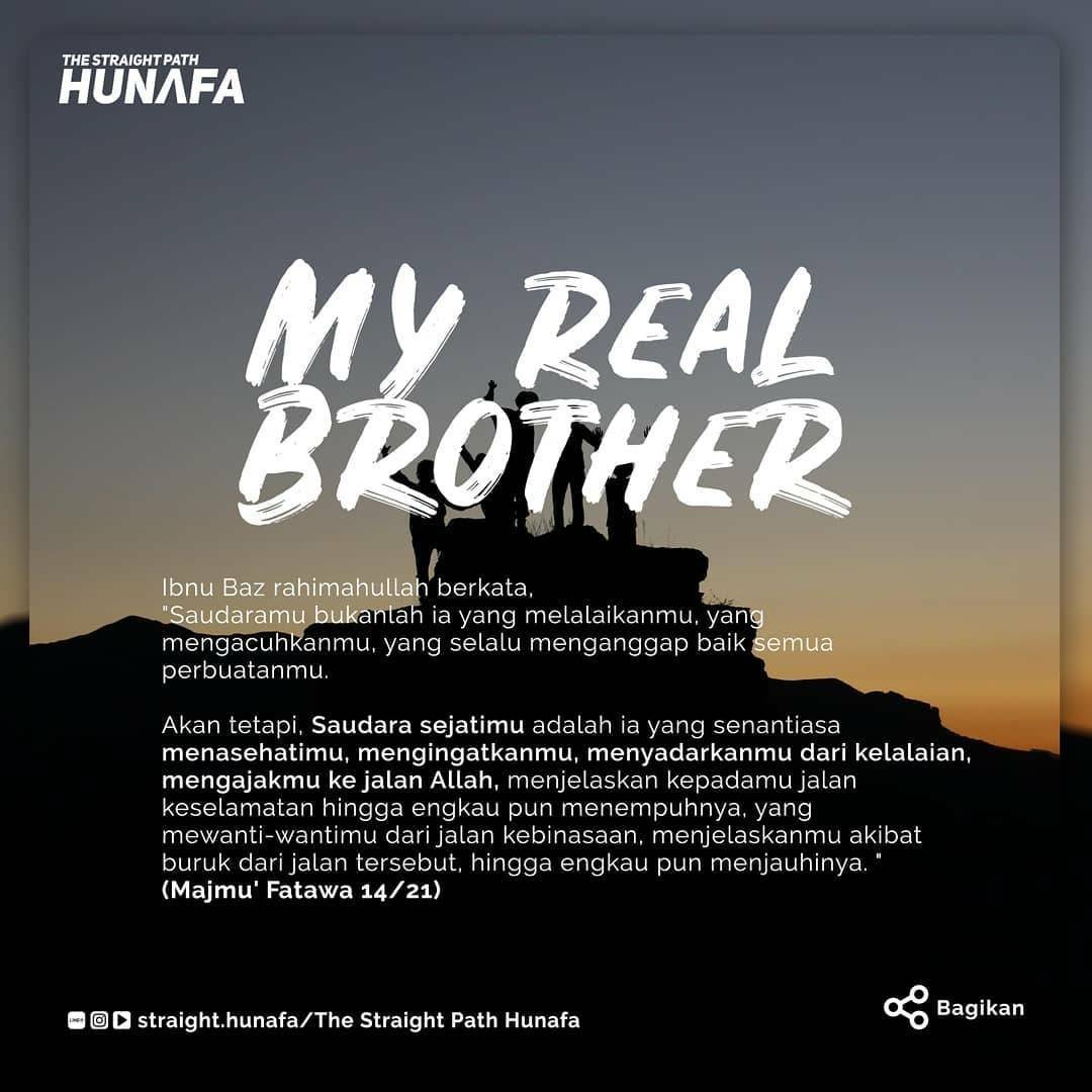 MY REAL BROTHER